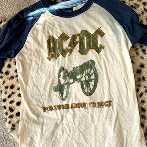 AC/DC baseball tee by Junk Food